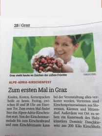 Geezwood in der Kleinen Zeitung 2017